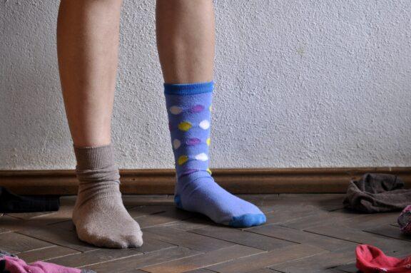 2 verschillende sokken